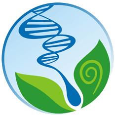 Analise os elementos básicos do símbolo do biólogo: DNA, espermatozoide, folhas e espiral