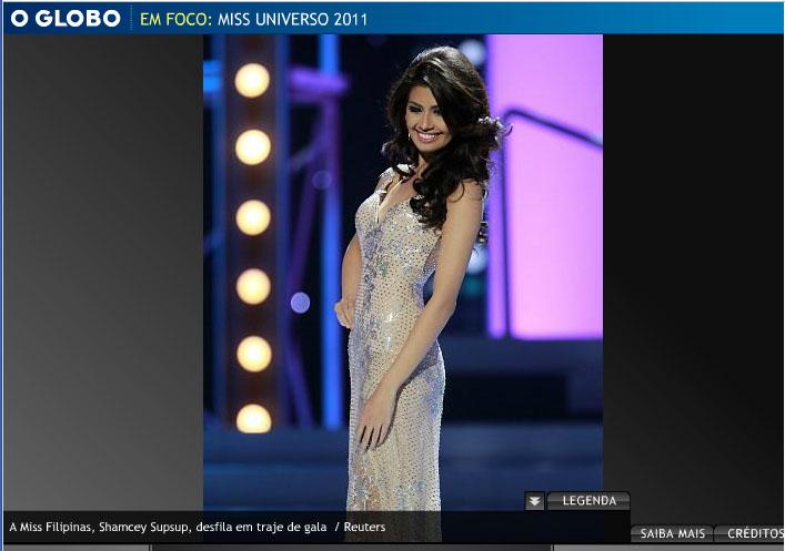 Miss Filipina, Shamcey Supsup, eu a escolheria.